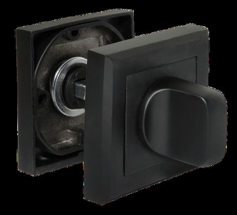 Фурнитура - Завёртка  Morelli MH-WC-S BL, цвет чёрный ЦАМ - (сплав, содержащий цинк, алюминий и медь) + многослойное гальваническое покрытие