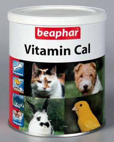 12503 Беафар Vitamin Cal Витаминная смесь для укрепления иммунитета д/собак и кошек 250 гр*6