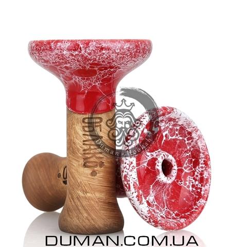 Чаша Oblako Phunnel Glaze Top (Облако) |Red-White L