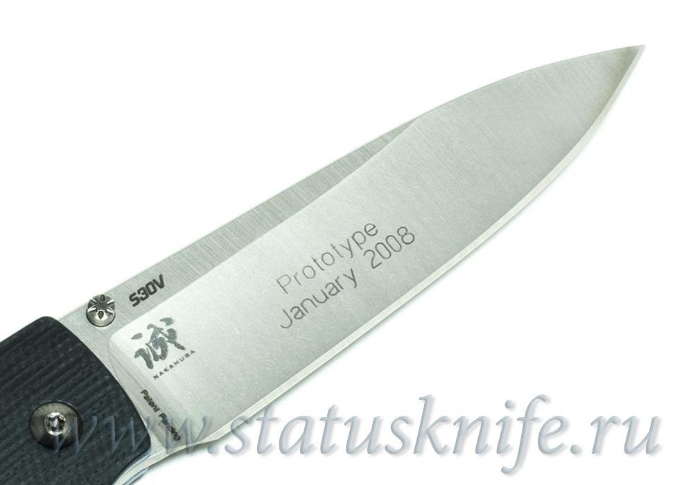 Нож Benchmade 480 Shoki, Prototype