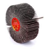 Круг MESSER шлифовальный лепестковый с оправкой (на шпильке) 80х30х6  #60