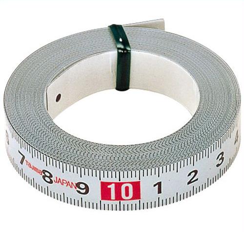 Самоклеящаяся стальная мерная лента Pit Measure 13мм L=1м Tajima PIT10