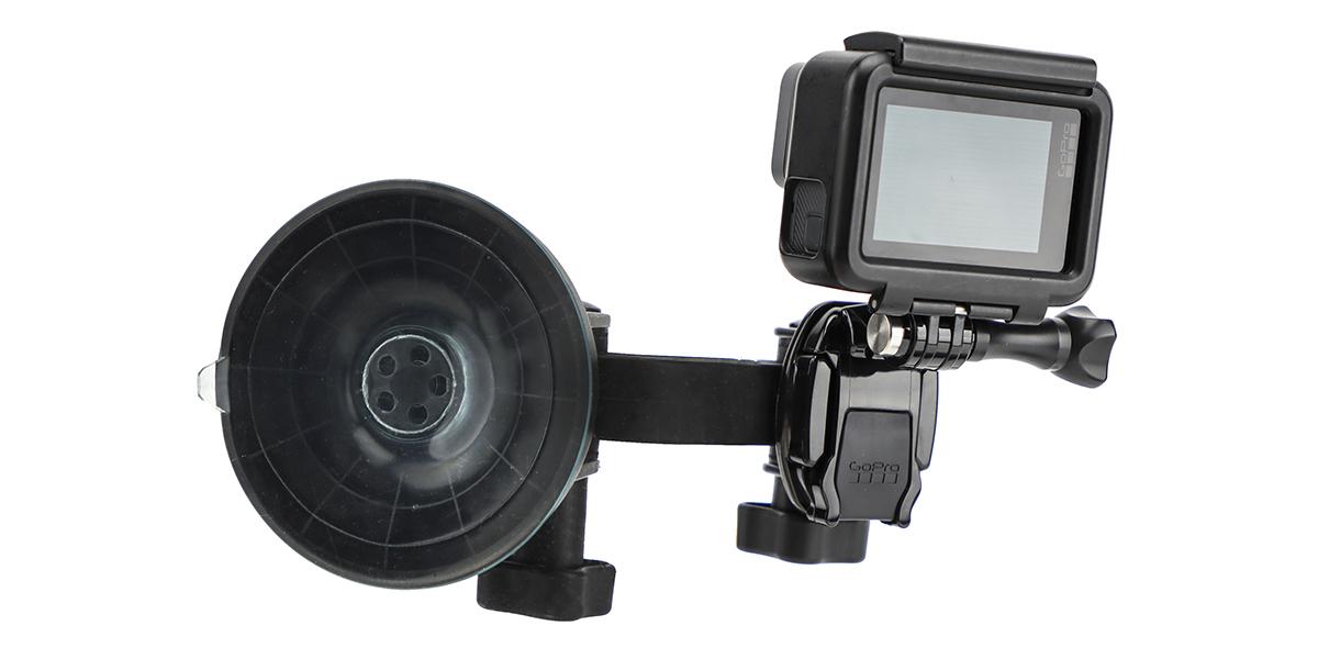 Крепление присоска GoPro Suction Cup Mount (AUCMT-302) с удлинителем сзади
