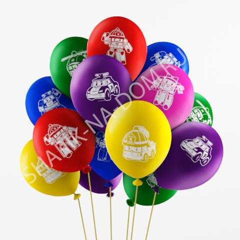 Воздушные шары под потолок Воздушные шары Поли Робокар Воздушные_шары_Поли_Робокар.jpg