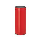 Мусорный бак Touch Bin New (30 л), Пламенно-красный, арт. 115189 - превью 1