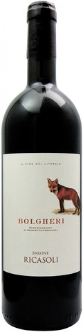 Вино Barone Ricasoli, Bolgheri DOC, 0.75 л