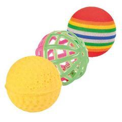Trixie Набор из 3-х мячей, ф 4 см