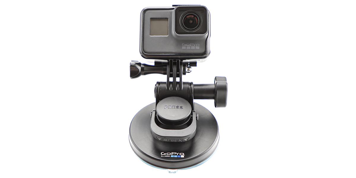 Крепление присоска GoPro Suction Cup Mount (AUCMT-302) вид спереди
