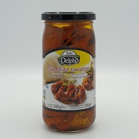 Томаты сушеные в масле DELPHI, 340 гр