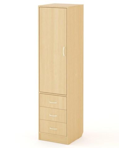 Шкаф-пенал АЯС-01 дуб беленый