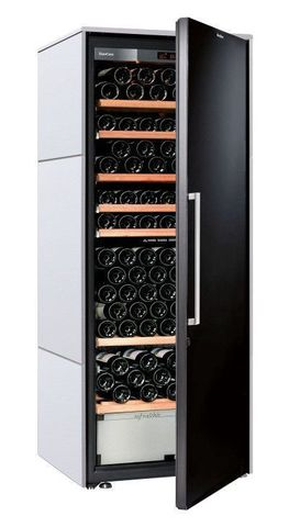 Винный шкаф EuroCave D Collection L белый хлопок, сплошная дверь, стандартная комплектация