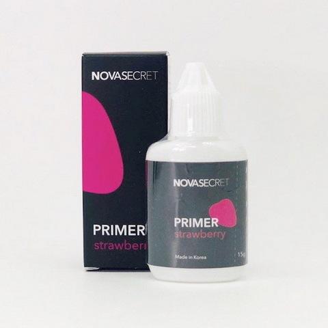 Праймер NOVASECRET с ароматом клубники, 15 мл