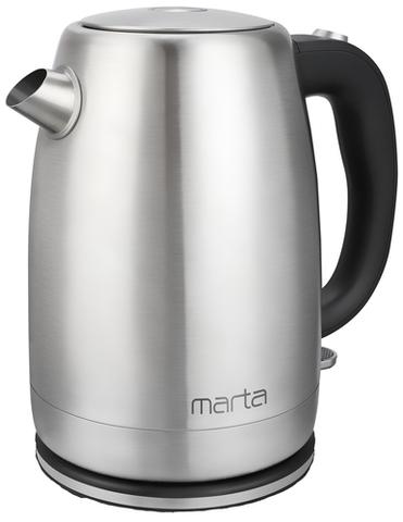 Чайник металлический MARTA MT-4559 черный жемчуг