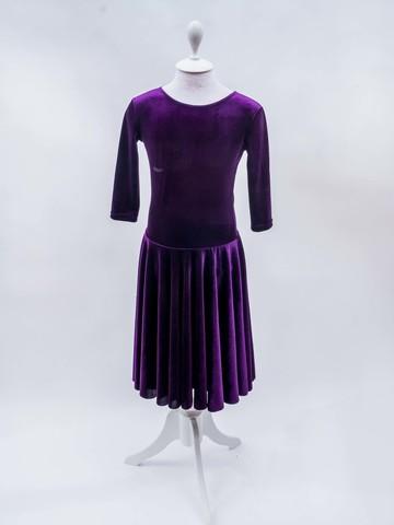 Рейтинговое платье Re10- бархат