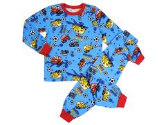 BK580K-2 пижама детская, синяя