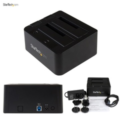 Док станция StarTech USB 3.1 Dual-Bay Dock for 2.5