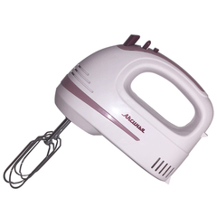 Миксер электрический 400 Вт АКСИНЬЯ КС-406 белый с темно-розовым