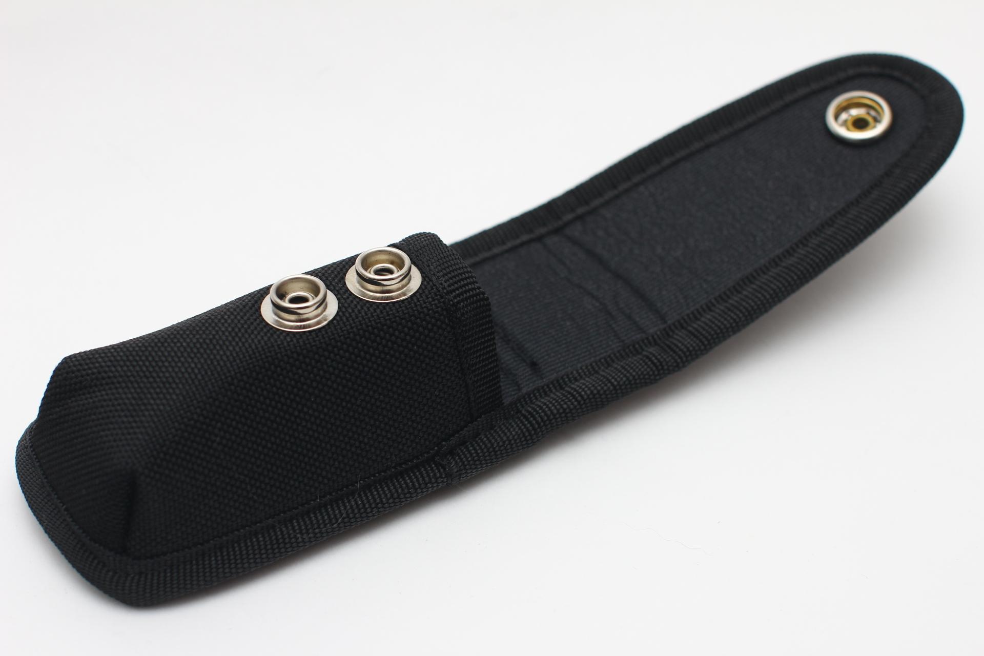 Чехол нейлоновый черный для ножа или мультитула