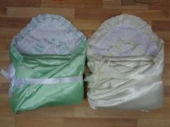Комплект д/выписки  с одеялом № 5 (атласный) весна