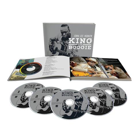 John Lee Hooker / King Of The Boogie (5CD)
