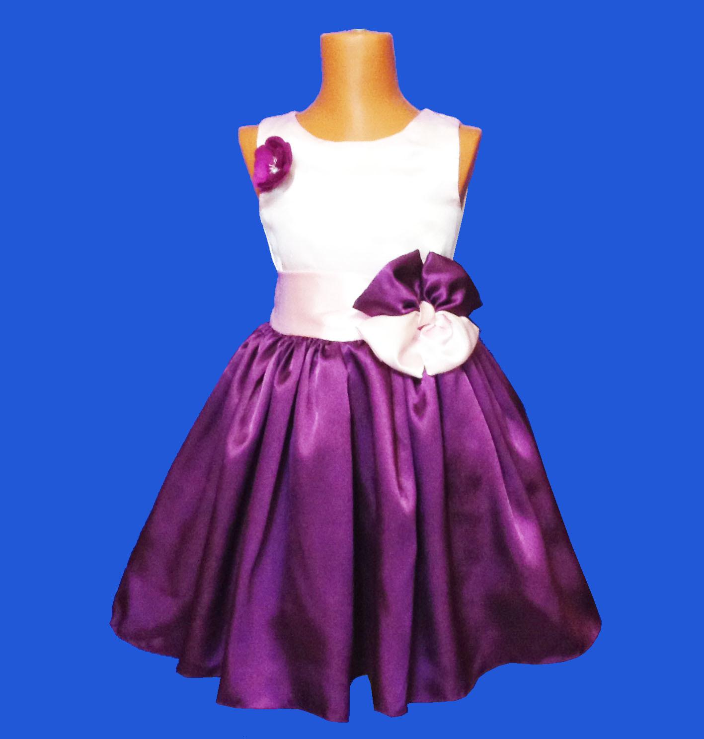 02d6430663b Детское нарядное Платье