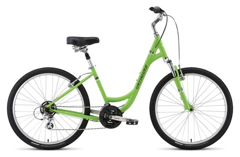 Specialized Expedition Sport Low Entry (2016)зеленый