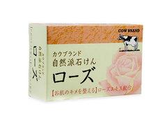 Натуральное мыло с экстрактом розы, 100г