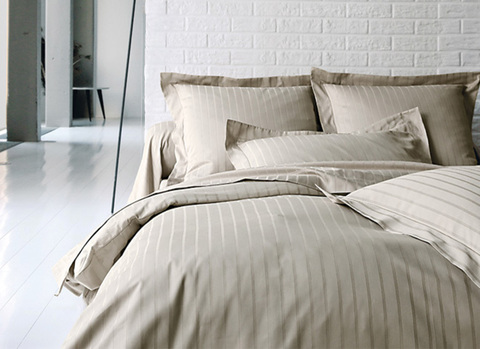 Постельное белье 2 спальное Blanc des Vosges Divine chanvre