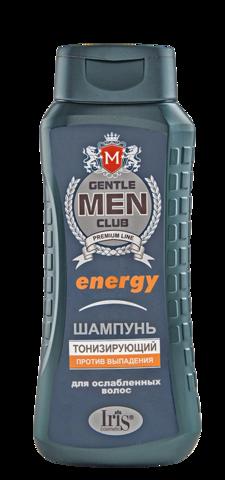 Iris Gentlemen club Шампунь Energy тонизирующий 400мл