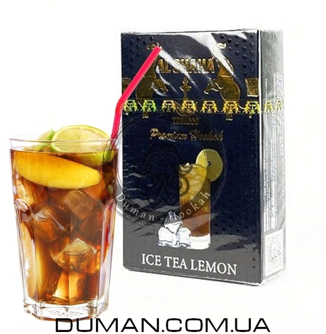 Табак Al Shaha Ice Tea Lemon (Эль Шаха Холодный Чай с Лимоном)