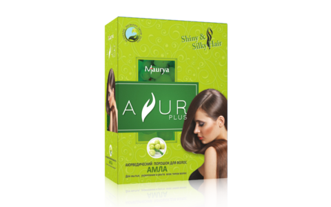 Амла, аюрведический порошок для волос, 100 г (Индия)