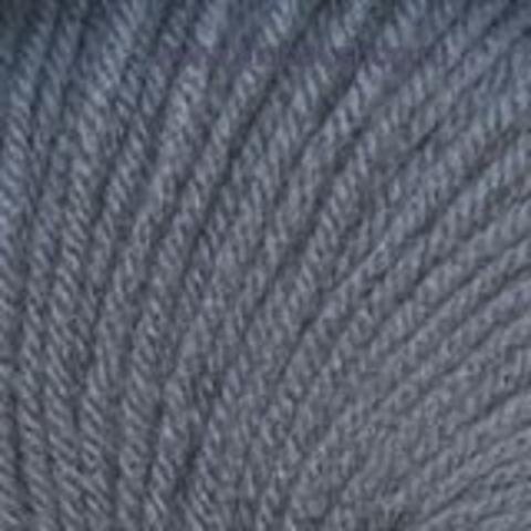 Пряжа Кроха цвет лилово-серый 630 Троицкая фабрика