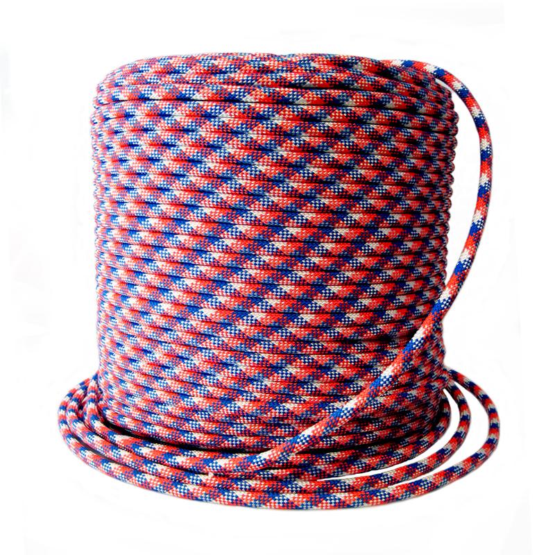 Веревка плетеная ПА d 12мм 24пр с/с