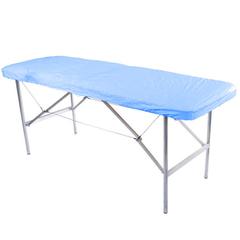 Чехол на кушетку многоразовый ПВД универсальный, голубой (210х90 см) - 3 шт.