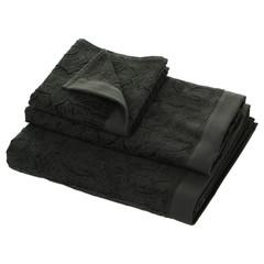 Набор полотенец 2 шт Roberto Cavalli Logo темно-серый