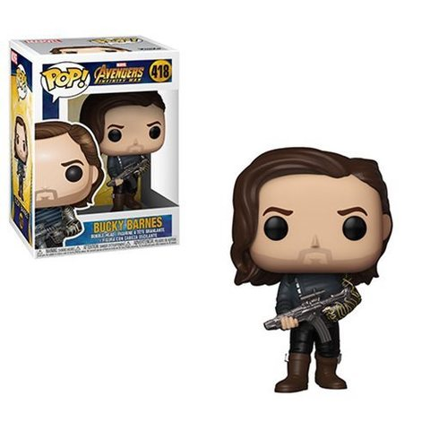 Фигурка Funko POP! Bobble: Marvel: Avengers Infinity War S2: Bucky w/ Weapon 35775