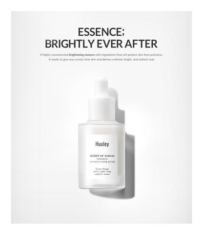 Выравнивающая тон кожи защитная антиоксидантная эссенция, 30 мл / Huxley Secret of Sahara ESSENCE ; BRIGHTLY EVER AFTER