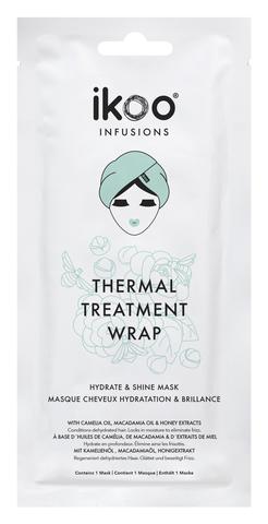 ikoo Thermal Treatment Wrap Hydrate Shine Маска-шапочка Увлажнение и Блеск