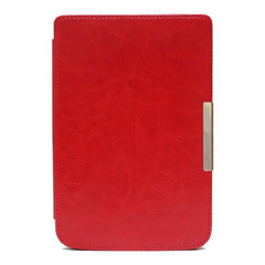 Чехол Hard Case With Clips для PocketBook 624/626/614/625/641 Red Красный