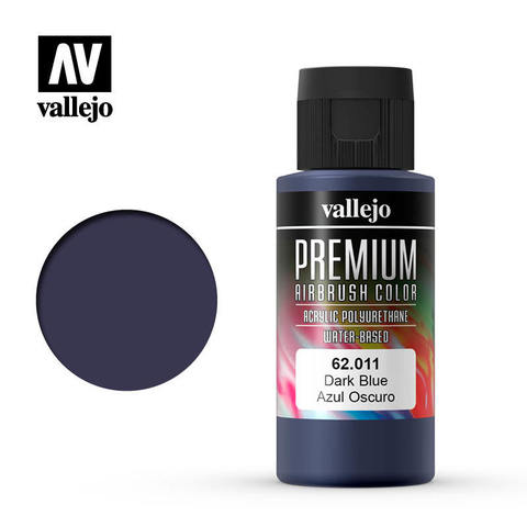 Premium Airbrush Dark Blue 60 ml.