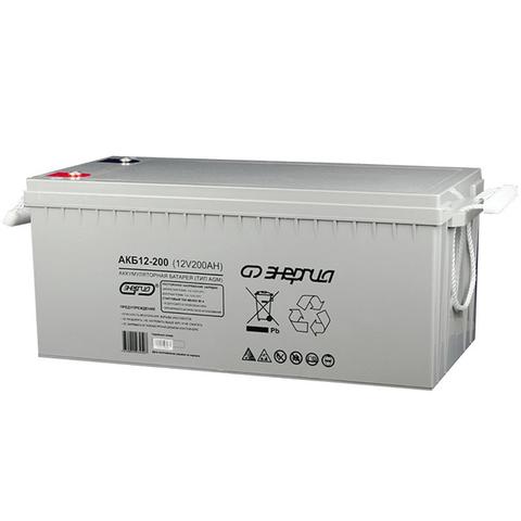 Аккумулятор АКБ 200-12 Энергия
