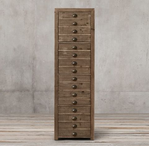 Printmaker's 4-Drawer File Cabinet