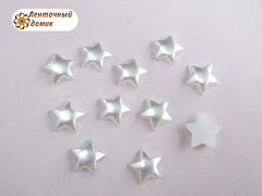 Пластиковые жемчужные звездочки