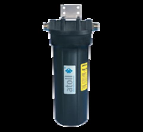 Фильтр A-211Eg, двухступенчатый с умягчением (гексаметафосфат) под кухонную мойку с краном