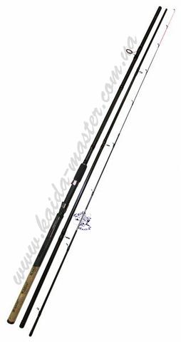 Фидер Kaida Pioneer 3,9 метра, тест 30-120 гр