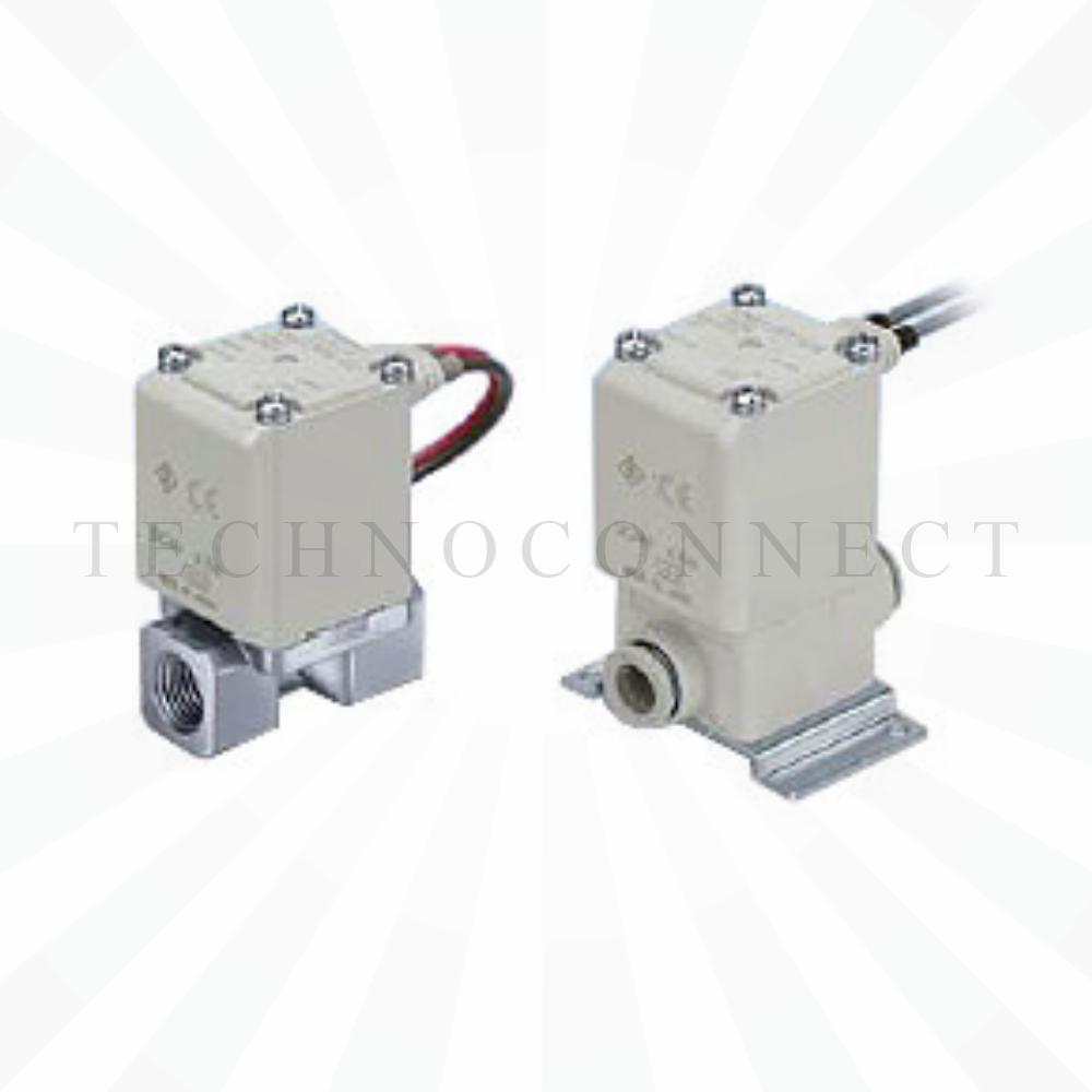 VX210JA   2/2 Клапан Н.З., на воздух, б/р 6, 24VDC, пластик