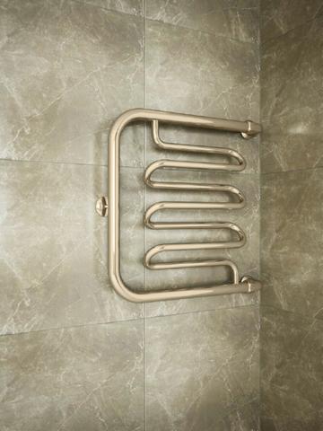 Foxtrot Liana Bronze - водяной полотенцесушитель цвета бронза. Бронза