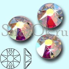 Купить стразы с огранкой 8+8 граней Xirius AA Crystal AB