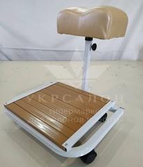 Складная подставка для педикюра с местом под ванночку