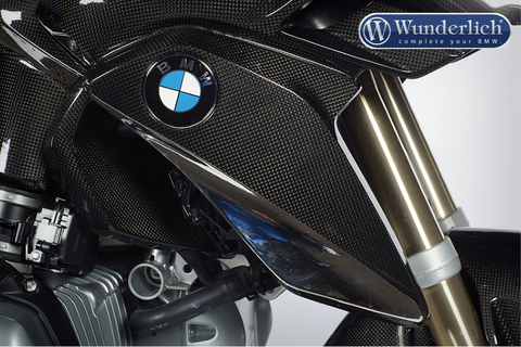 Накладка на радиатор охлаждения правосторонняя BMW R1200GS карбон